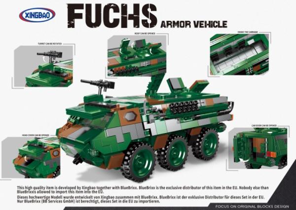 Transportpanzer Fuchs, Bundeswehr