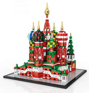 Basilius Cathedral (Mini Blocks)