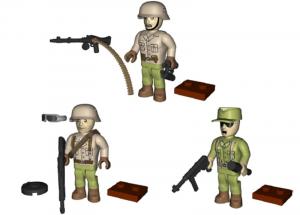 Africa Korps (3 pieces)