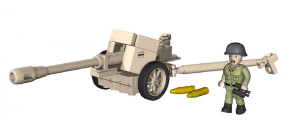 DAK 75mm anti-tank gun 40