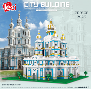 Smolny Monastery (diamond blocks)