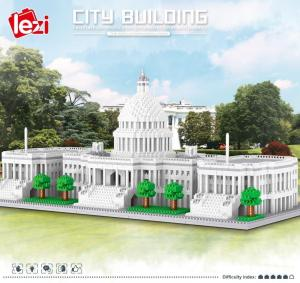 United States Capitol (diamond blocks)