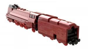 Streamlined steam locomotive BR 03