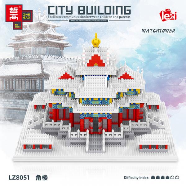 Corner Watchtower of Forbidden City