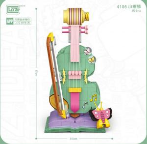 Violin  (mini blocks)