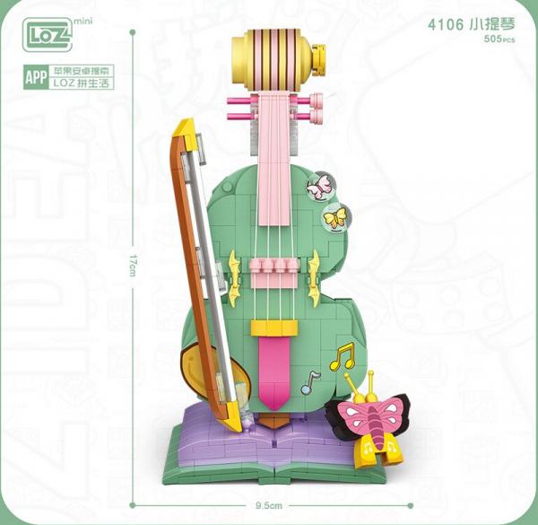 Violine (mini blocks)