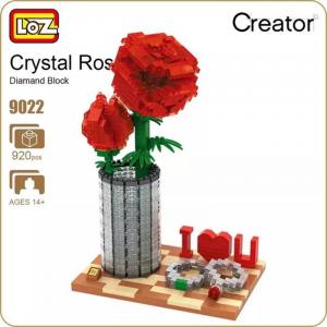 Crystal Rose (diamond blocks)