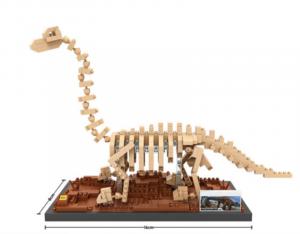 Brachiosaurus (Diamond Blocks)