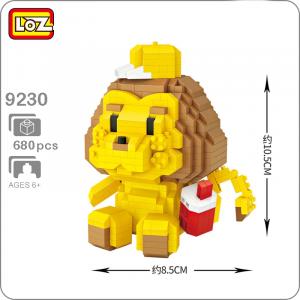 Löwe (diamond blocks)