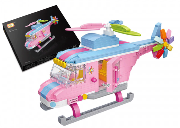 Hubschrauber (mini blocks)