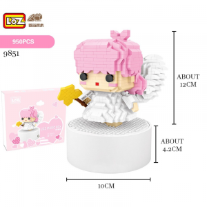 Music Box with Angel (Diamond)
