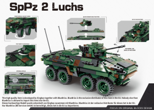 Spähpanzer 2 Luchs, Bundeswehr