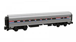 USA Passagierwagon grau schwarz