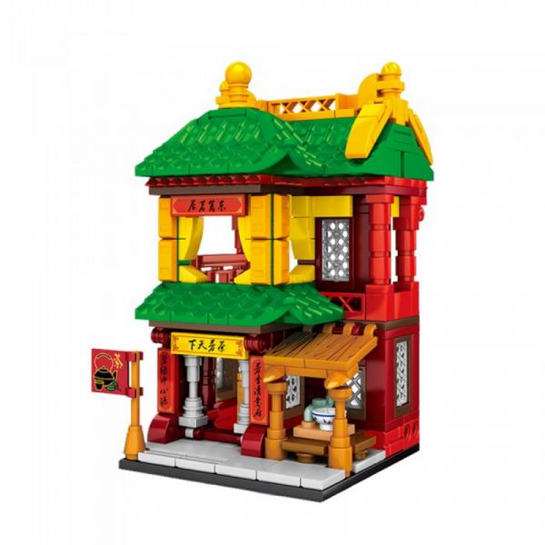 Antiquity mini model series: Tea Shop