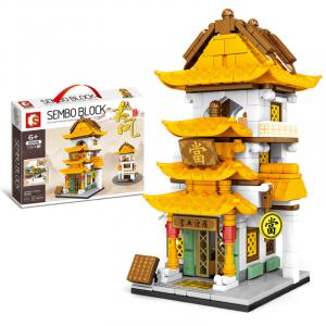 Antike Mini-Modellreihe: Pfandhaus