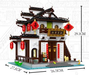 Stadt am Fluss: Jiangnan Teehaus