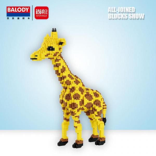 Giraffe (diamond blocks)