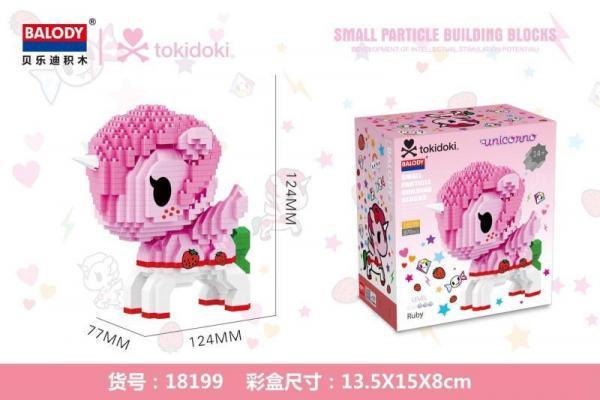 Pink Unicorn (diamond blocks)