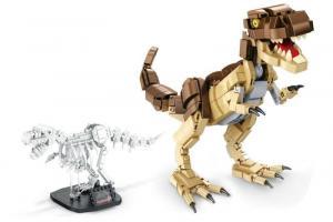Tyrannosaurus Rex und Fossil