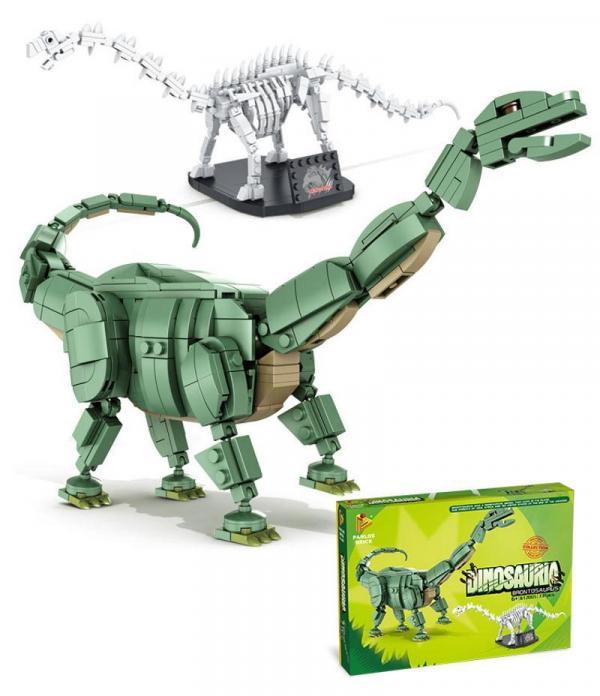 Brontosaurus und Fossil