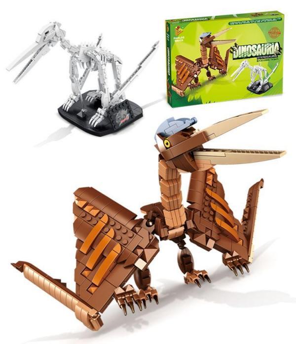 Pterosaurier und Fossil