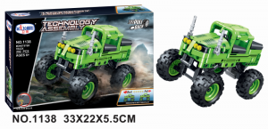 Monster Truck in green