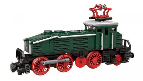 Locomotive BR 160 in dark green