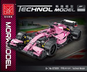 Racing car in pink