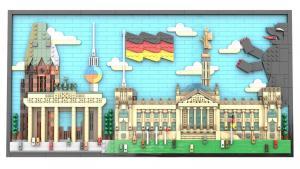 Berlin Bild für die Wand