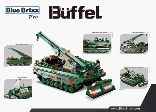 Bergepanzer Büffel, BPz3, Bundeswehr