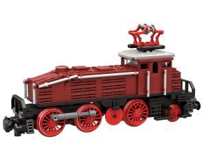 Locomotive BR 160 in dark red
