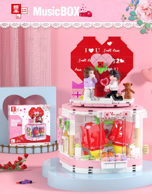 Happy Valentine's Day Music Box