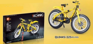 Bicycle in yellow