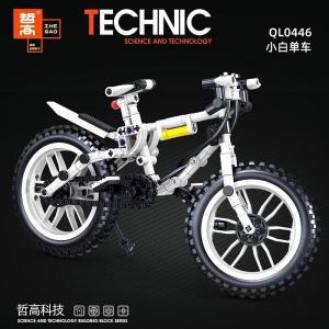 Bicycle in white