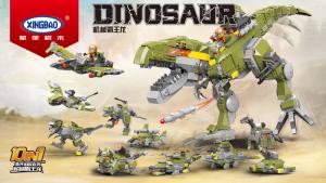 Dinosaurs - 10 different sets (Display Box)