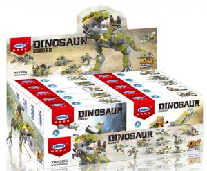 Dinosaurier - Display Box Artikel (10 verschiedene Sets)
