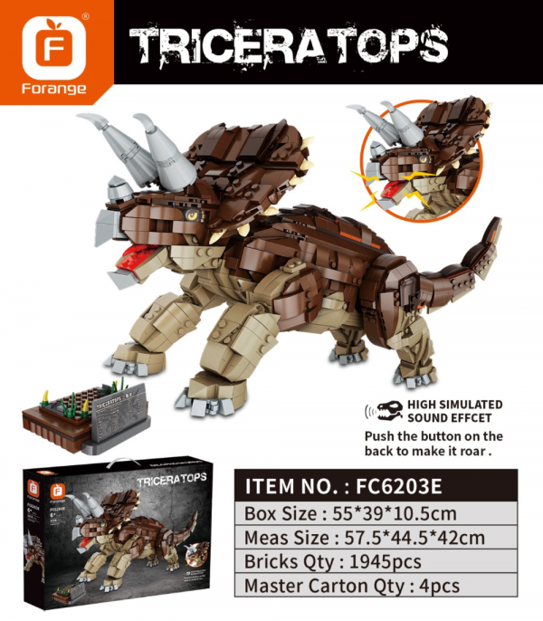 Triceratops mit Sound