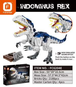 Indominus Rex with Sound