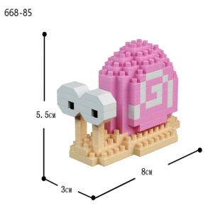 Snail (diamond blocks)