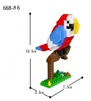 Parrot  (diamond blocks)