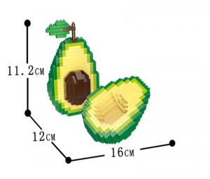 Avocado (diamond blocks)