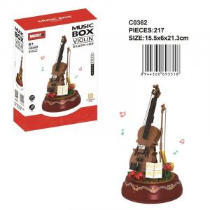 Music box violin