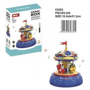 Music box carousel
