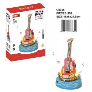 Music box electric guitar