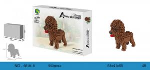 Poodle (diamond blocks)