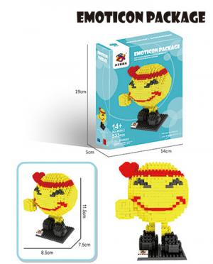 Kämpfer Emoji (diamond blocks)