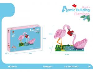 Flamingos (diamond blocks)