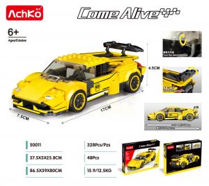 Racing Car in yellow