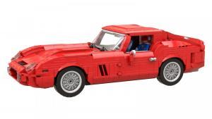 Italienischer Sportwagen rot