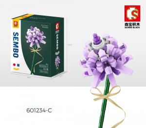 Trifolium Repens L in lila (Kleeblatt)